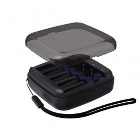 Xtar Charger Baterai Portable USB Type C 4 Slots 1.5V for Li-ion AA AAA Ni-Mh - BC4 - Black - 6