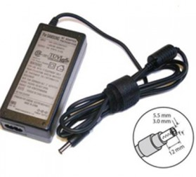 Adaptor Samsung 19V 2.1A Small Plug - Black