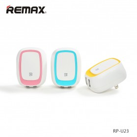 Remax Dual USB Charger Fast Charging 2.4A EU Plug - RP-U23 - Yellow - 8