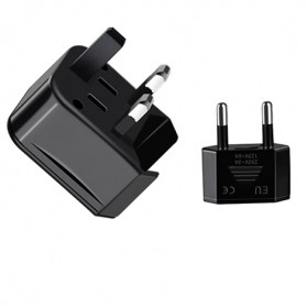 HOCO Universal Travel Socket Charger Power Adapter -  AC1 - Black - 6