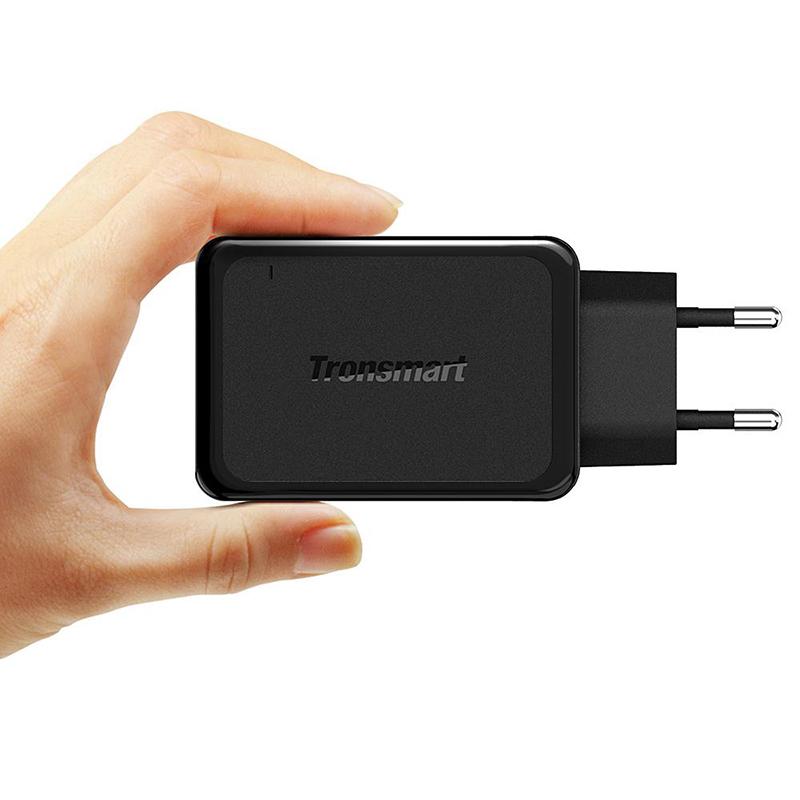 ... Tronsmart USB Charger 3 Port QC 3.0 - W3PTA - Black - 2 ...