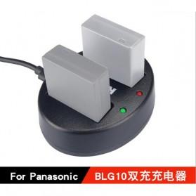 KingMa Charger Baterai Travel Panasonic GX7 GF6 GF3 GF5 S6K GX85 - BM015-BLG10 - Black - 3