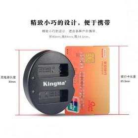 KingMa Charger Baterai Travel Panasonic GX7 GF6 GF3 GF5 S6K GX85 - BM015-BLG10 - Black - 4