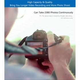 KingMa Dual Charger BM048 + 2 Baterai LP-E6 Canon EOS 6D 5D 60D 70D 80D - Black - 9