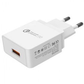 Taffware Charger USB Qualcomm Quick Charge 3.0 1 Port - GS-551 - White