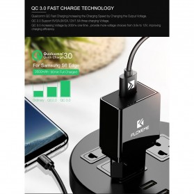 Taffware Charger USB Qualcomm Quick Charge 3.0 1 Port - GS-551 - White - 2