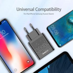 Floveme Charger USB Fast Charging 2 Port 2.4A - GC-08 - Black - 2