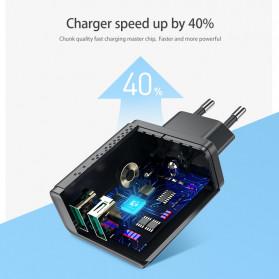Floveme Charger USB Fast Charging 2 Port 2.4A - GC-08 - Black - 3
