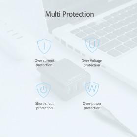 Floveme Charger USB Fast Charging 2 Port 2.4A - GC-08 - Black - 9
