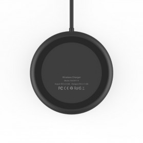 Vinsic Qi Wireless Charger for Smartphone - Black - 2