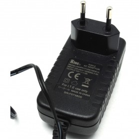Adaptor for Router Switch 12V 1A - HW-120100E6W - Black - 4