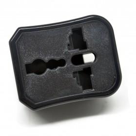 Universal Travel Adapter US, UK, EU and AU - Black - 2