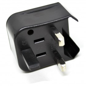 Universal Travel Adapter US, UK, EU and AU - Black - 4