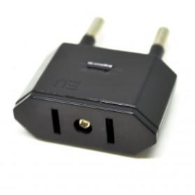 Universal Travel Adapter US, UK, EU and AU - Black - 6