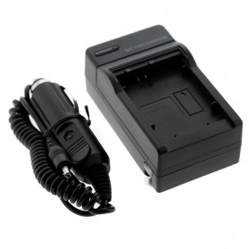 Camera Travel Charger for Sony DSLR with Car Charger - NP-FW50 - Black - 4