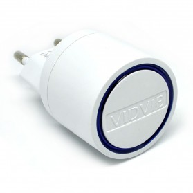 Vidvie Dual USB Charger 2.1A with Lightning Cable - VV-021 - White - 2