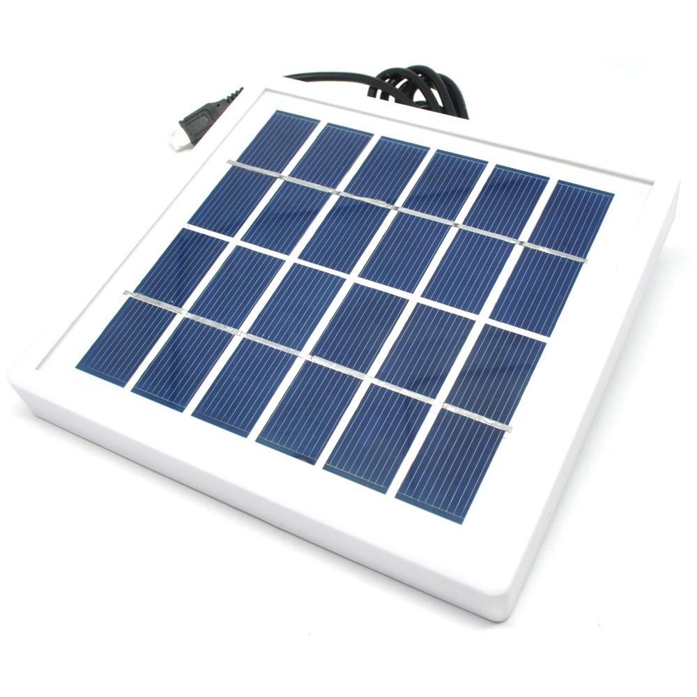 Charger Matahari Solar Photovoltaic Charging Board T6 350 White Sel Mini Cell Surya Module 6v 1w 1