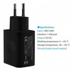 Voxlink Charger USB QC 3.0 - Black - 2