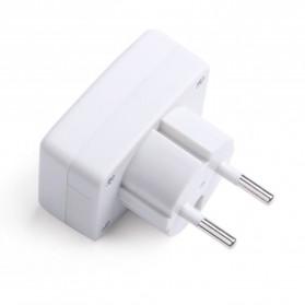 Voltmeter Digital AC EU Plug 110-300V / Alat Pengukur Listrik - DM55-1 - White - 5
