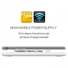 ESVN Qi Compatible Wireless Charging Pad - HB-19 - Black - 5
