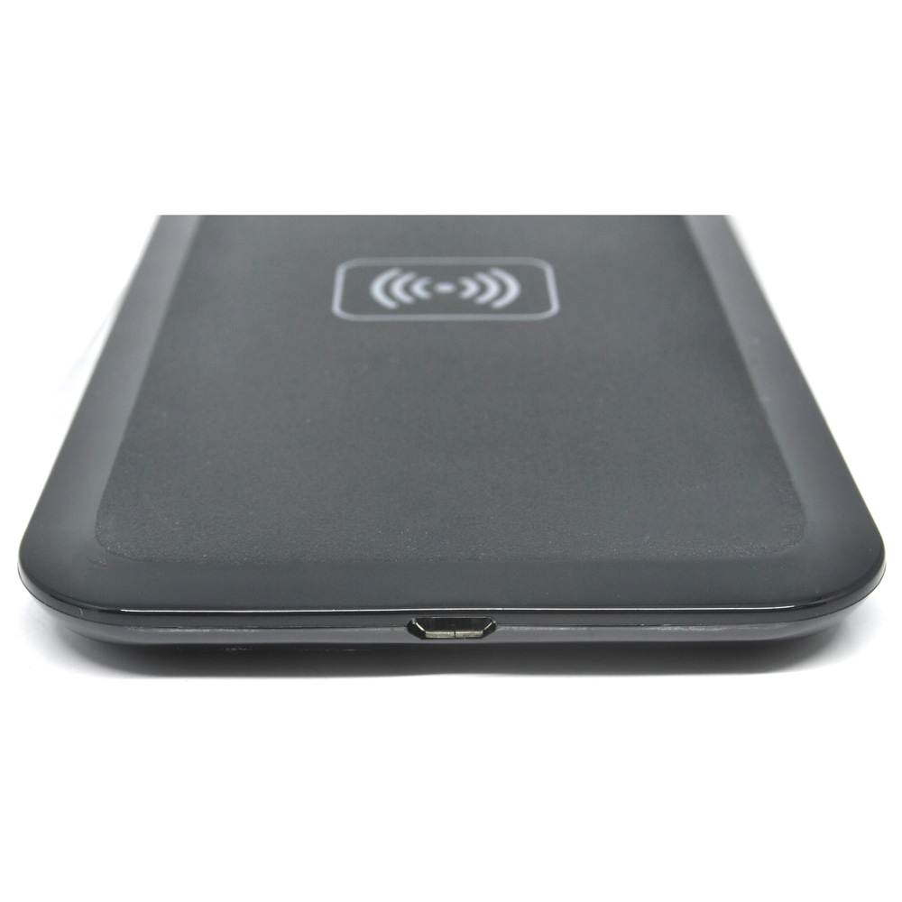 Qi Compatible Wireless Charging Pad Hb 19 Black