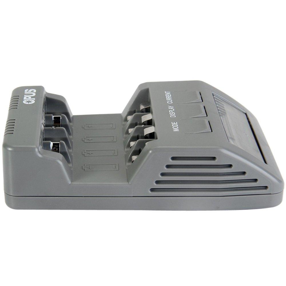 Opus Charger Baterai Nicd Nimh 4 Slot Bt C700 Black Box Kotak Tempat 18650 2 6