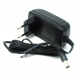 AC Adapter Alat Elektronik 12V 1A 5mm Pin - Black