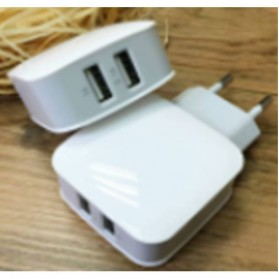 Olaf Dual Port USB Charger Travel - 170209 - White - 6