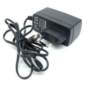 Laptop Sparepart - AC Adapter 12V 0.6A - P120060-2C1 (14 DAYS) - Black