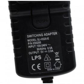 Adaptor Power Supply 5V 2A EU Plug - SJ-0520-E (14 DAYS) - Black - 2