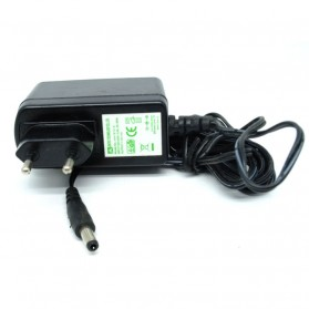 Adaptor Power Supply 12V 1.5A EU Plug - AH1812-E (14 DAYS) - Black
