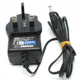AC Adapter Alat Elektronik 12V 1A - XKD-C1000IC12 (14 DAYS) - Black