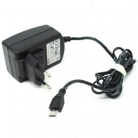 Adaptor DVE 5V 2A Micro USB EU Plug - Black