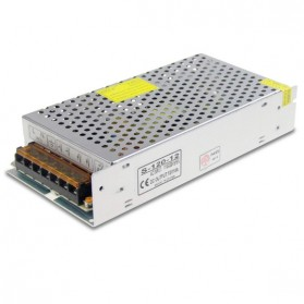 BTF Lightning Power Supply AC to DC 12V 10A 120W for Lampu LED Strip - S-120-12 - Silver