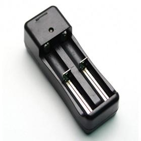 Charger Baterai 18650 2 Slot - HZS-002 - Black