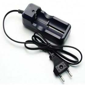 Charger Baterai 26650 1 Slot - HG-105LIX - Black