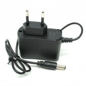 AC Adapter Alat Elektronik 4.2V 500mA 5mm Pin EU (14 DAYS) - Black