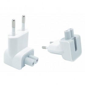 EU AC Plug Kepala Duckhead for Magsafe Macbook - DN0581 - White