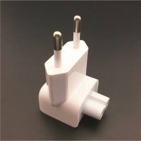 KONSMART EU AC Plug Kepala Duckhead for Magsafe Macbook - DN0581 - White - 2