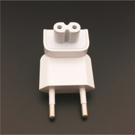KONSMART EU AC Plug Kepala Duckhead for Magsafe Macbook - DN0581 - White - 5