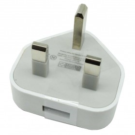 Apple USB Charger 1 Port 1A US Plug (OEM) - White