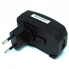 Tablet Charger & Travel Charger - Adapter Power Supply USB 5V 2A - PSAI05R-050Q - Black