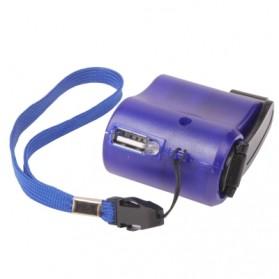 Charger Smartphone Tenaga Kinektik - Blue - 2
