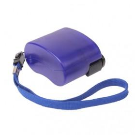Charger Smartphone Tenaga Kinektik - Blue - 3
