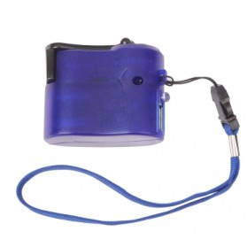 Charger Smartphone Tenaga Kinektik - Blue - 4