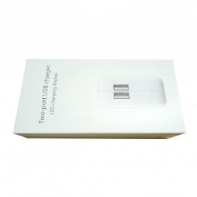 FIVI USB Charger 2 Port dengan Display LED - SP004B-EU - White - 4