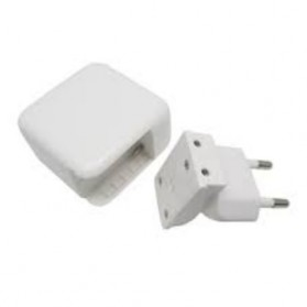 Dual USB Mini Travel Charger - SP004-2B - White - 5