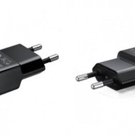 USBO Travel Adapter USB Charger 5V 2.0A for Smartphone - ETA-U90EWE - Black - 3