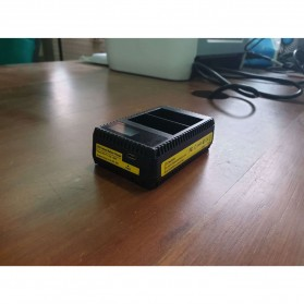 SEIWEI Charger Baterai Travel Nikon D600 D800 D800E D7000 - EN-EL15 - Black - 6