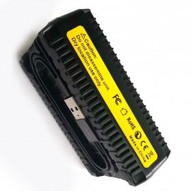 SEIWEI Charger Baterai Travel Nikon D600 D800 D800E D7000 - EN-EL15 - Black - 7